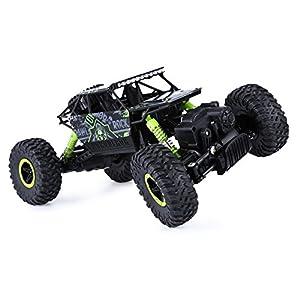 Rc Car,KingPow-DeXop 2.4GHz Electric Rock Crawler Radio Control Car,High Speed Racing Off Road Rc Car - Green