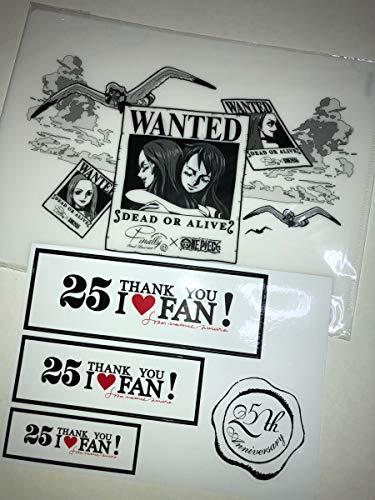 安室奈美恵 ワンピース クリアファイル finally ステッカー セブンネット限定 DVD 特典 沖縄