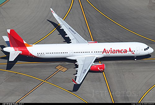 Avianca Airbus A321 neo 1:200 Scale Model Die-Cast Part#G2AVA700 - Neo Scale Models