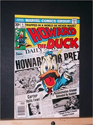 Howard the Duck #8: Gerber, Steve (Writer) Gene Colan (Artist ...