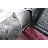 Auto Mirror Snow Cover - Protector for Driver and Passenger Blind Side View Wing Mirrors - Cars - Trucks - SUV - Automobile - Best Accessorie for Outside of Car - Large - Super Duty - Lightweight - Durable Polyester Frost Guard