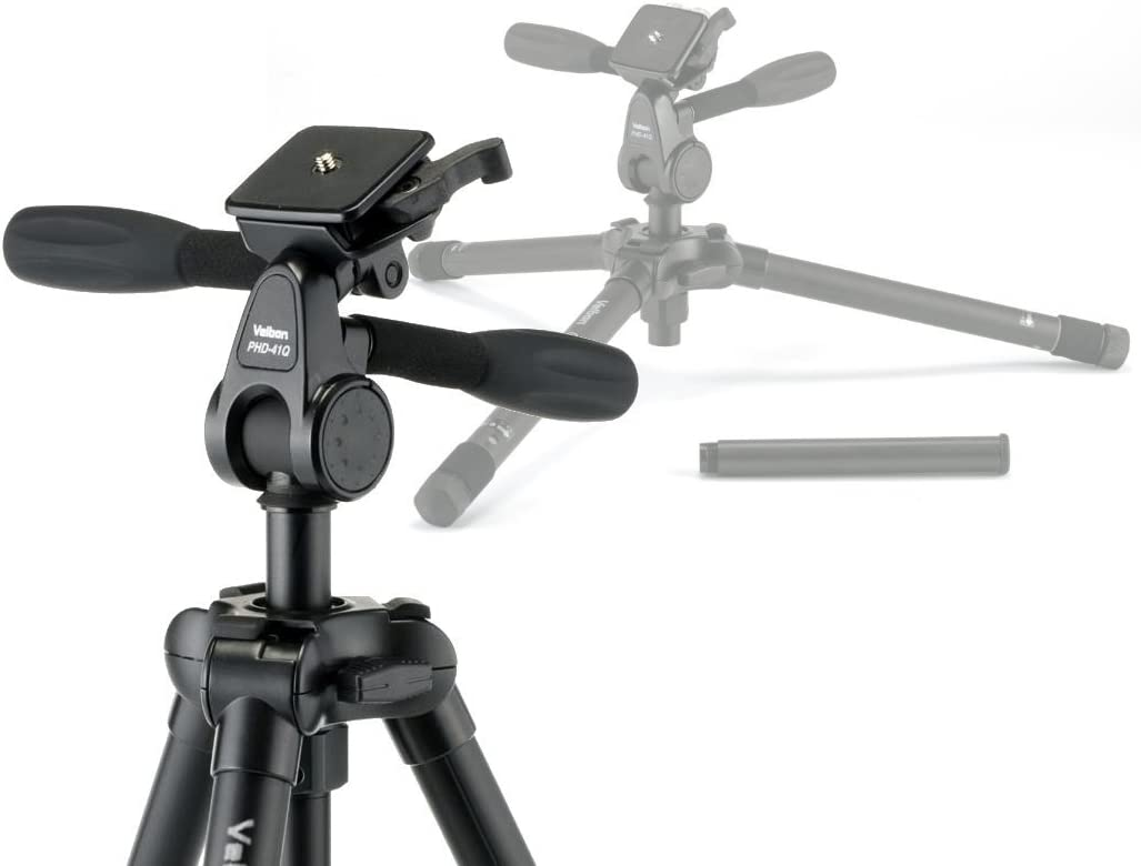 Velbon Ultra Lux I M Aluminium Dreibein Stativ Inkl Kamera