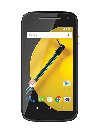 Motorola Moto E 2 Generation Smartphone 45 Zoll 114 Cm Touch Display 8 Gb Speicher Android 50 Schwarz