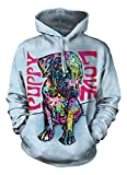 The Mountain Puppy Love Hoodie, X-Large, Blue
