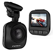 "CACAGOO 64G Full HD 1080P, 170° Wide Angle, Dash Cam Car Recorder DVR Dashboard Camera with 2"" TFT LCD, H.264, Super Night Vision, G-Sensor & Loop Recording"