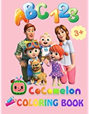 Cocomelon Coloring Book: Fun with ABC & Number Coloring to learning and JJ Memories Coloring Page