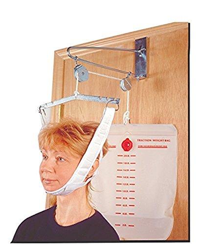 BodyHealt Overdoor Cervical Traction Set - Neck Disk Relief - Complete (Overdoor Cervical Traction Device)