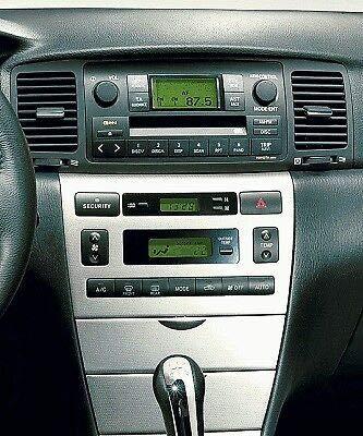 Toyota Corolla Auto CD Stereo-Radio Schacht Faszie Tellerranderh/öhung Montagekit Panel