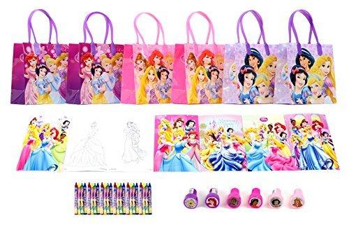 Disney Princess Party Favor Set - 6 Packs (42 Pcs) -