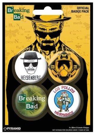 Gb Eye Breaking Bad Heisenberg Badge Pack