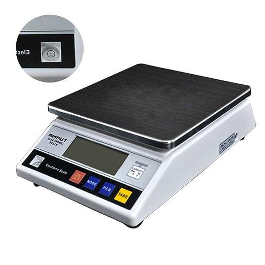 LiFuJunDong Balanza de precisión Mesa Digital Libra Gold Escala ...