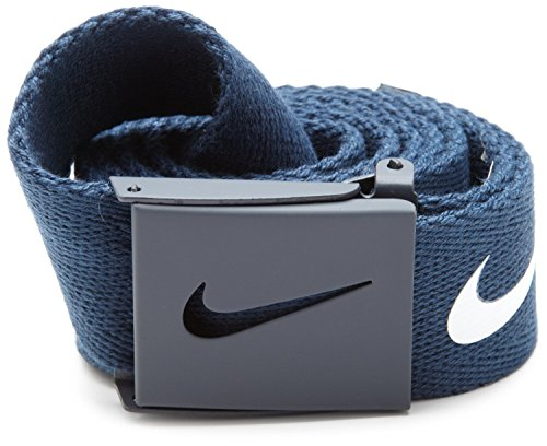 Nike Mens Tech Essential Belt, College Navy, One ()