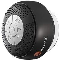 TaoTroncis Altavoz Bluetooth Ducha Impermeable Inalámbrico con Ventosa (A2DP Estéreo, IPX4, hasta 6 Horas de Reproducción) Baño, Piscina