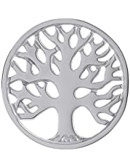 MS Koins Stainless Steel Tree of Life Coin Fits Our Coin Locket System, 30mm Diameter