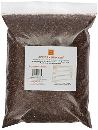 African Red Tea Imports African Red Tea with Sutharlandia, 1 pound(16oz)