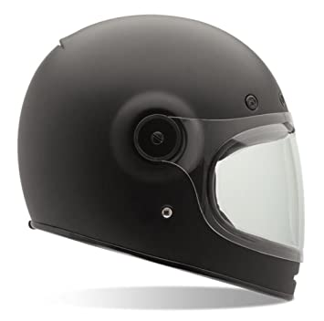 Bell Bullitt Full Face Motorcycle Helmet (Solid Matte Black, Medium) (Non-