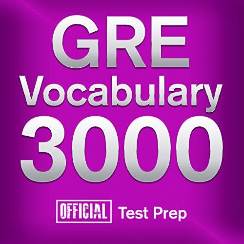 Pdf Test Preparation GRE Vocabulary 3000: Official Test Prep