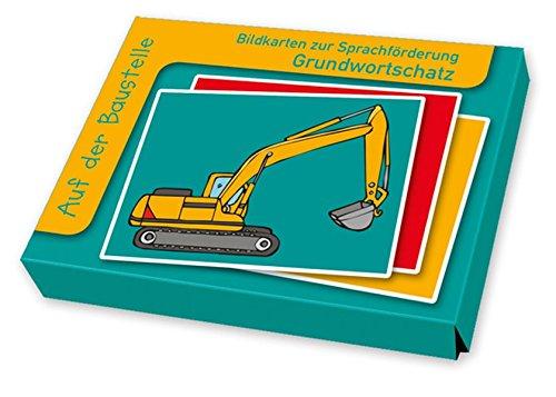 Auf der Baustelle (Bildkarten zur Sprachförderung)