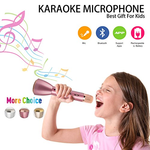 Wireless Microphone Portable Bluetooth Smartphone product image