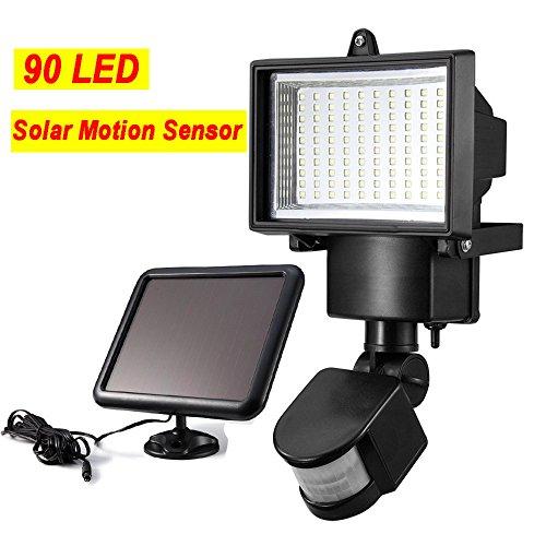 Sogrand Solar Lights Outdoor,Motion Sensor Light,90LED LUX/S