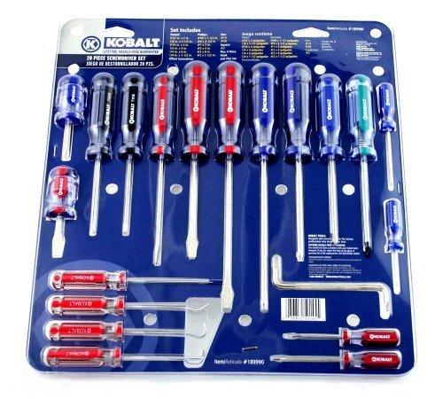 Kobalt 20 Piece Screwdriver Set