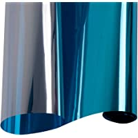 HOHOFILM Reflective Solar Mirrored Window Film One Way Silver Privacy Glass Sticker UV Protection Decoration 152cmx50cm