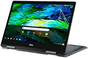 Celicious Vivid Invisible Glossy HD Screen Protector Film Compatible with Dell Inspiron Chromebook 14 7486 [Pack of 2]