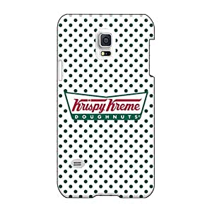 ErleneRobinson Samsung Galaxy S5 Mini Shock Absorption Hard Phone Case Support Personal Customs Realistic Krispy Kreme Doughnuts Series [AIO18071PhKr]