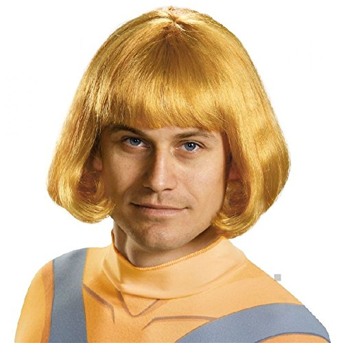 He-Man Wig Costume Accessory Adult Masters of the Universe Halloween