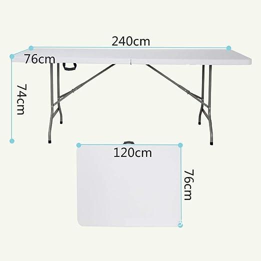 Mesa plegable Mesa rectangular al aire libre Mesa de conferencia ...
