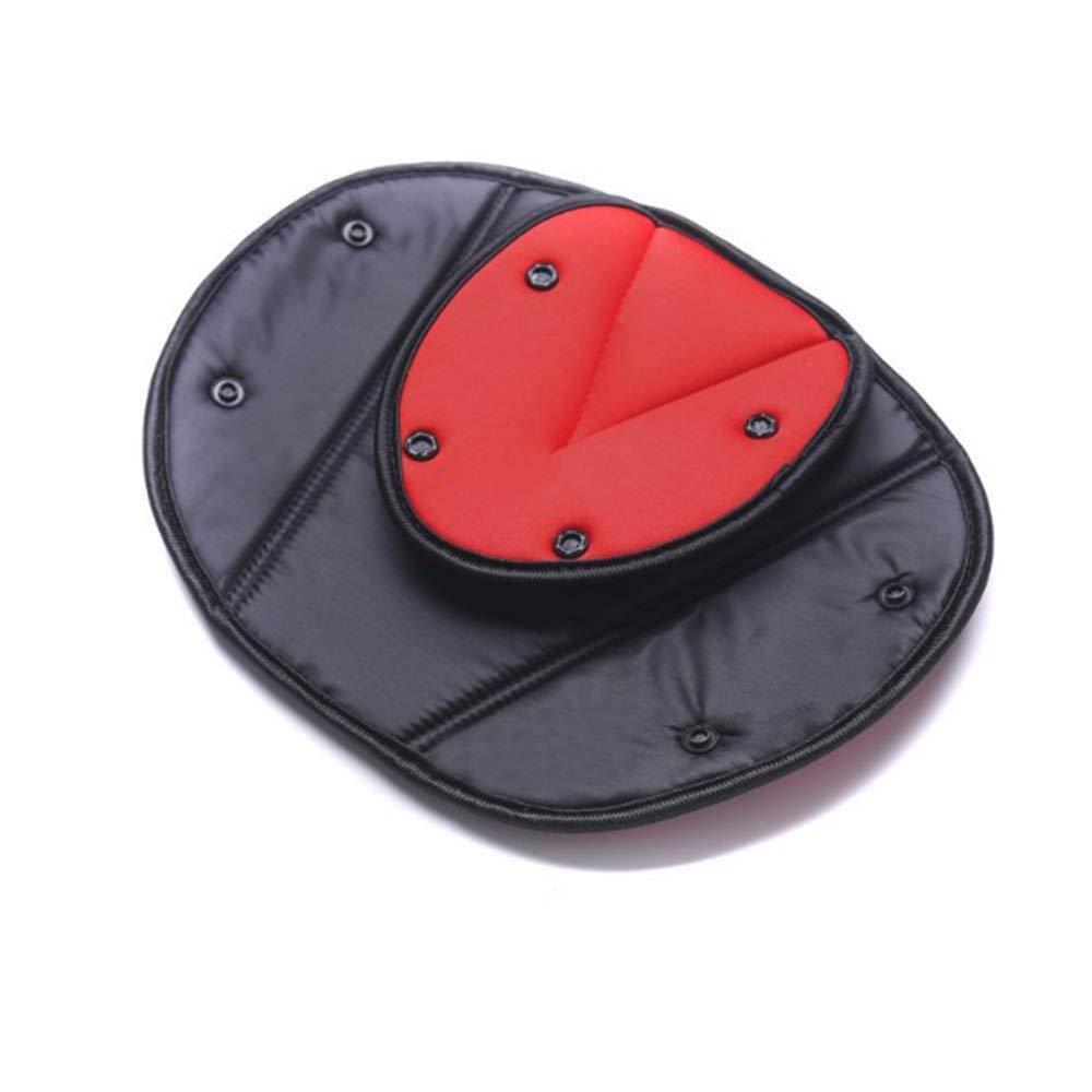 Kids Auto Auto Sicherheitsabdeckung Gurtstraffer Kleinkind Kindersitzgurteinstellung Kindersitzbezug Schultergurt Sicherheitsgurte Dreieckhalter 2-tlg