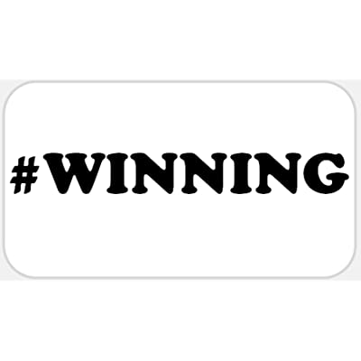 #Winning - 50 Stickers Pack 2.25 x 1.25 inches - Hashtag Winning Charlie Sheen: Office Products