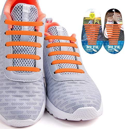 結ばない 靴紐 伸縮性靴ひも ゴム ほどけない 脱ぎ履きが楽々 簡単取り付け 防水 おしゃれ スニーカー 靴ひも メンズ レディース用 シューレス
