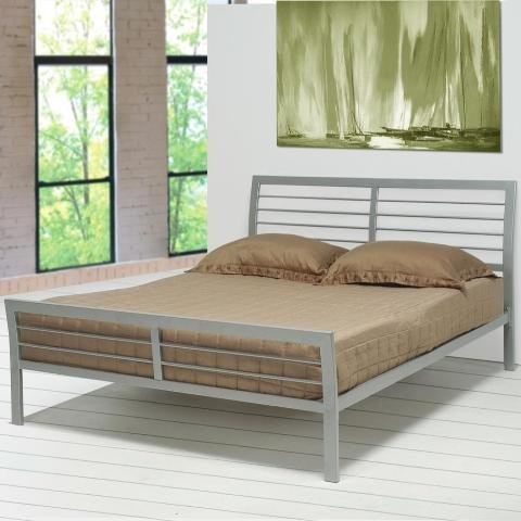 Coaster Bed Metal Silver 2 Silver