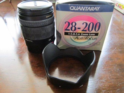 Quantaray Autofocus Zoom Lens 28-200mm 1:3.8-5.6 for Canon Af ()