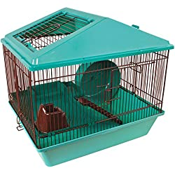 "Ware Manufacturing Animal House 16"" 2 Level for Hamster - Colors May Vary"