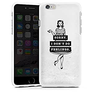 Mobile phone case cover shell for Apple iPhone 4 4s silicone case white - Pinup Girl