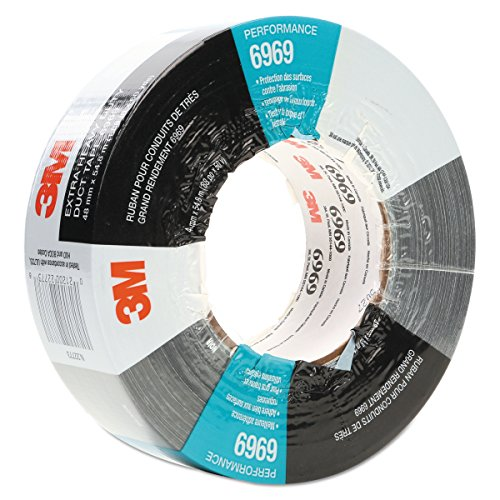 3M Extra Heavy Duty Duct Tape 6969 Silver, 48 mm x 54.8 m 10.7 mil (Pack of 1) from 3M