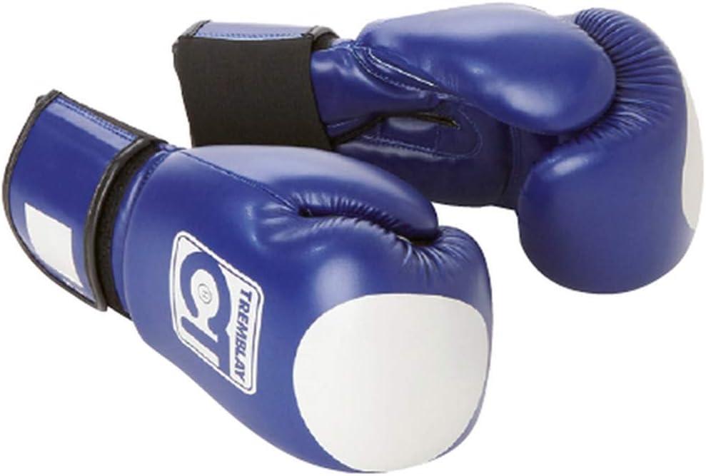 Visiodirect Gant de Boxe avec Zone de Cible Bleu Taille 12 oz