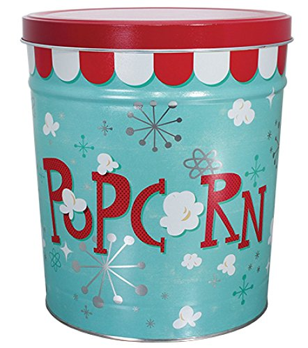 Mix 3.5 Gallon Tin - 3.5 Gallon Gourmet Popcorn Can - Your Choice of Mix! (Cheese Lover's Medley)