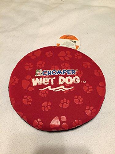 Chomper Dog (Chomper Wet Dog Neoprene Frisbee (red))
