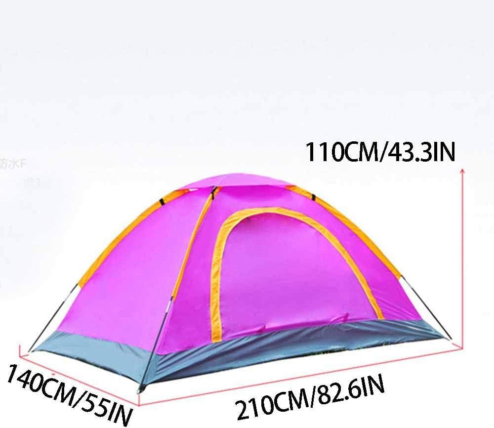 Carpas De Marco, Carpas Domo, Carpa para Camping, Ligero Y Robusto, Anti-UV Configuración Fácil, Doble Capa Impermeable, para La Familia, Al Aire Libre, Senderismo,4 4