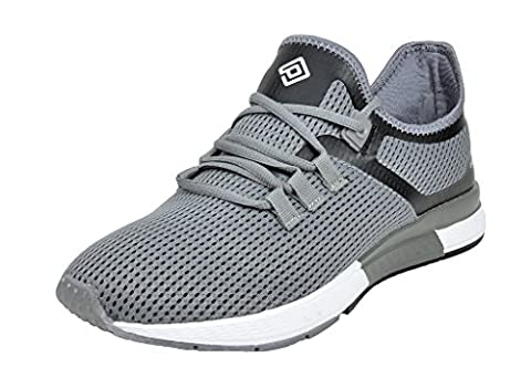 Dream Pairs 160453-M New Men's Sport Light Weight Flexible Athletic Gym Running Shoes Sneakers - Grey Sports Shoes