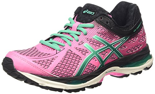 Cumulus 17 de Gel Peacock Running Asics Mujer Zapatillas Green Flamingo Multicolor Black CwZ5qx4Sx