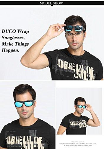 Gafas de para sol Duco hombre Azul R0q6nB7d