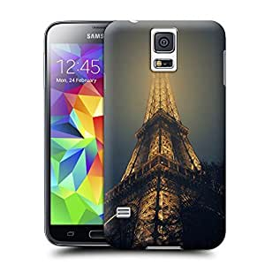 Unique Phone Case Eiffel Tower In Fog Hard Cover for samsung galaxy s5 cases-buythecase wangjiang maoyi