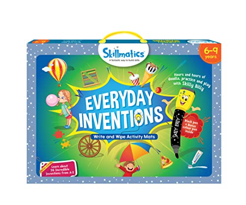 Skillmatics Educational Game: Everyday Inventions (6-9 Years) | Fun Learning Activities for Kids