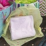 Custom Catch Personalized Baptism Baby Blanket Gift - Girl Name for Christening