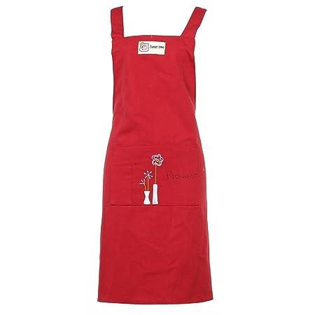 Delantal de cocina – Correas de hombro ajustables – extra cintura ...