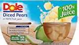 Kyпить Dole Fruit Bowls, Diced Pears in Juice, 4 Cups (Pack of 24) на Amazon.com